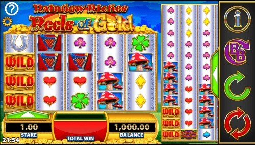 Rainbow Riches Reels of Gold UK slot game