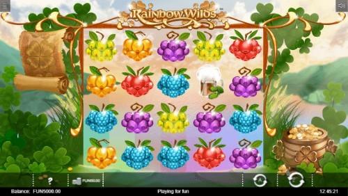 Rainbow Wilds UK slot game