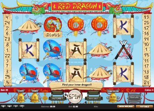 Red Dragon UK slot game