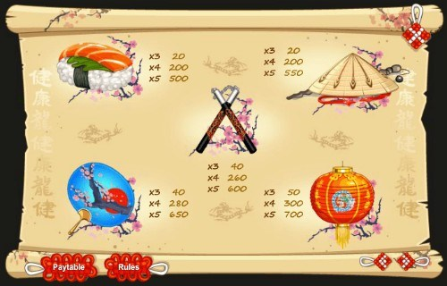 Red Dragon UK slot game