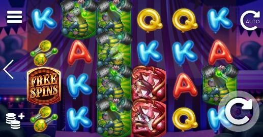 Respin Circus UK slot game