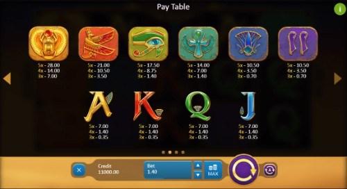 Rise of Egypt UK slot game