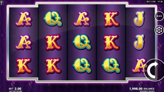 Rockabilly Wolves UK slot game