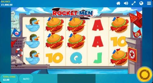Rocket Men UK slot game