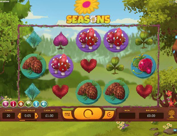 Seasons UK slot game