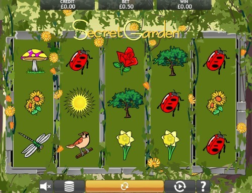 Secret Garden UK slot game