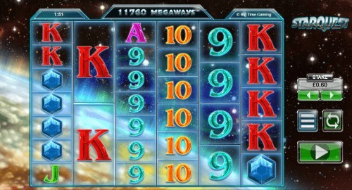 Star Quest UK slot game