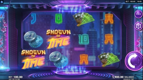Shogun of Time UK slot game