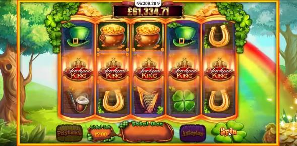 Slots of Gold Megaways JPK UK slot game