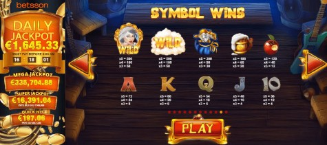 Snow Wild and the 7 features UK slot game