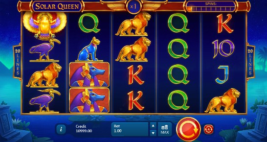 Solar Queen UK slot game