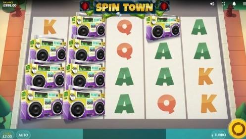 Spin Town UK slot game
