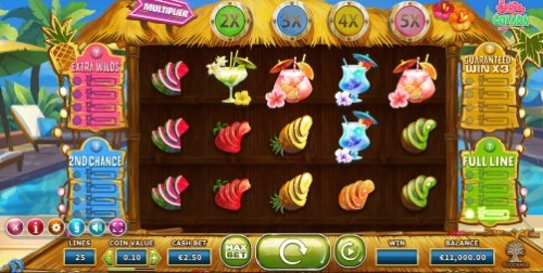 Spina Colada UK slot game