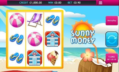 Sunny Money UK slot game