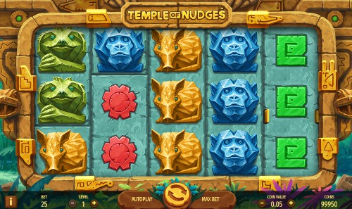 Temple of Nudges UK slot game