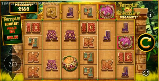 Temple of Treasure Megaways UK slot game