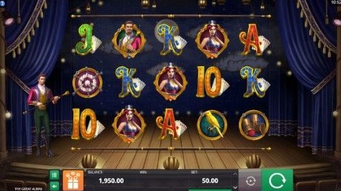 The Great Albini UK slot game