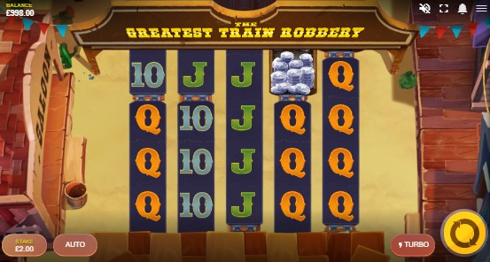 The Greatest Train Robbery UK slot game