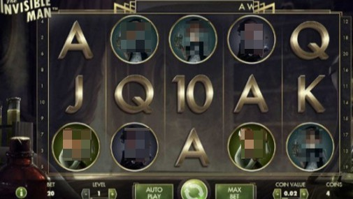 The Invisible Man UK Slots