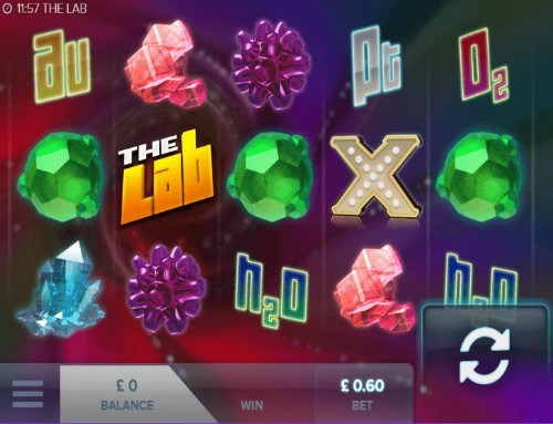The Lab UK slot game