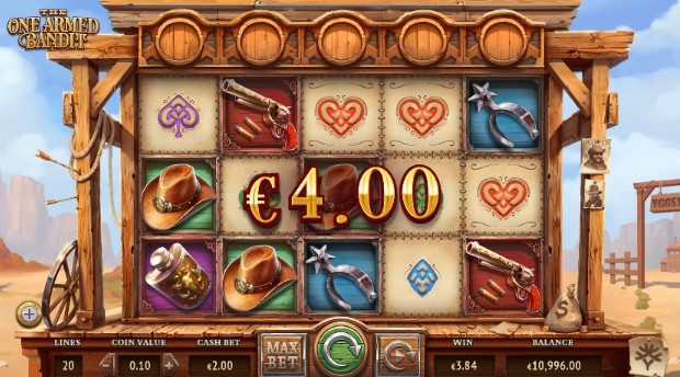 The One Armed Bandit UK slot game