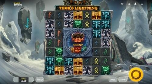 Thor's Lightning UK slot game