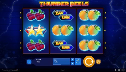 Thunder Reels UK slot game