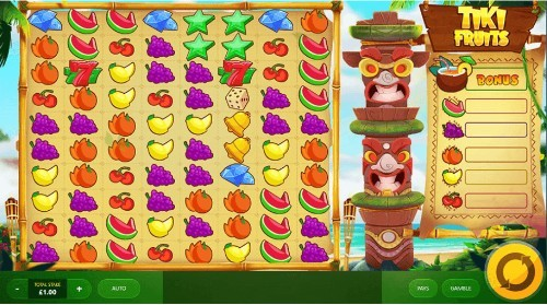Tiki Fruits UK slot game