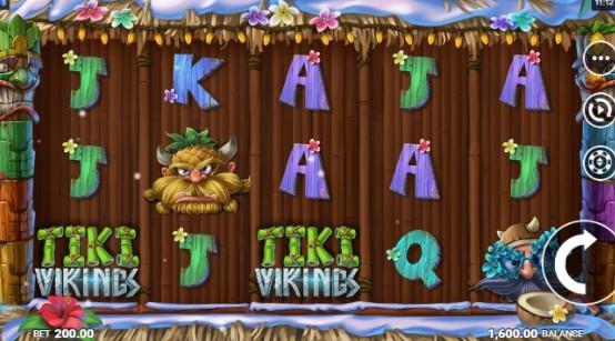 Tiki Vikings UK slot game