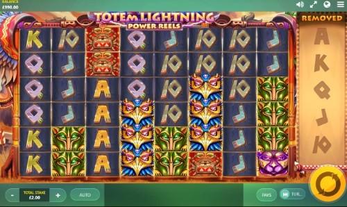Totem Lightning Power Reels UK slot game