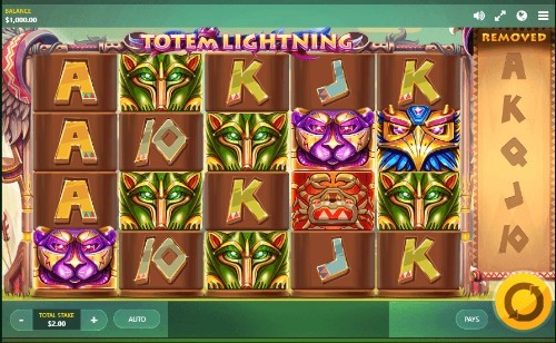 Totem Lightning UK slot game