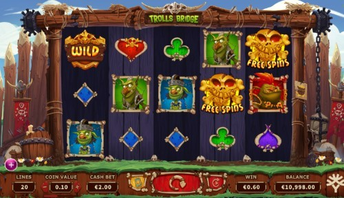 Trolls Bridge UK slot game