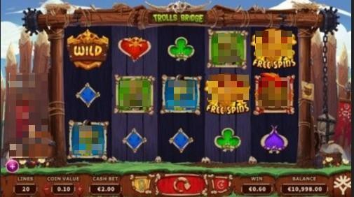 Troll's Bridge UK Slots