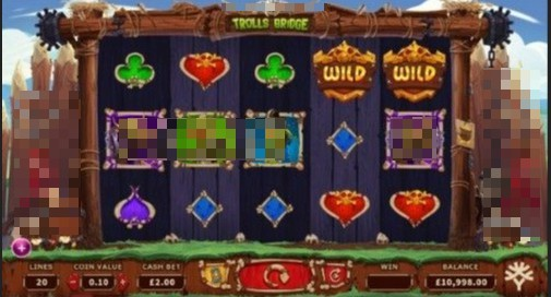 Trolls Bridge UK Slots
