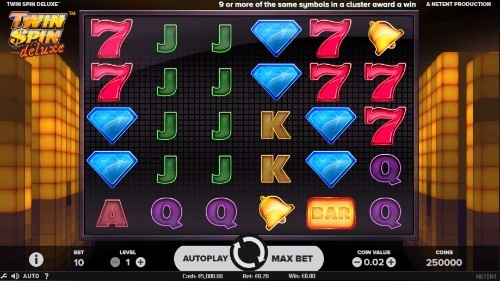 Twin Spin Deluxe UK slot game