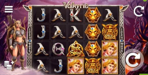 Valkyrie UK slot game