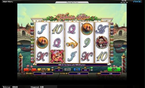 Venetian Rose UK slot game