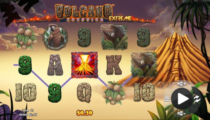 Volcano Eruption Extreme UK slot game