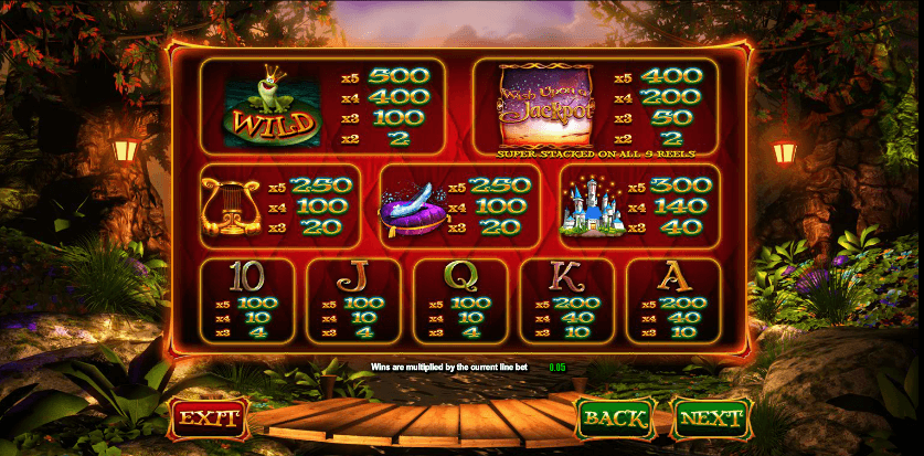 Wish Upon A Jackpot UK slot game