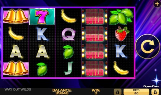 Way Out Wilds UK slot game