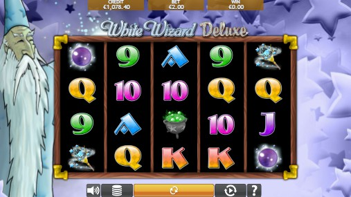 White Wizard Deluxe UK slot game