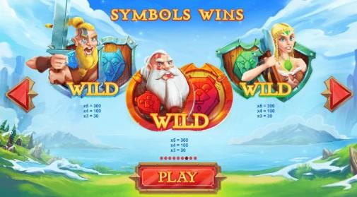 Wild Nords UK slot game