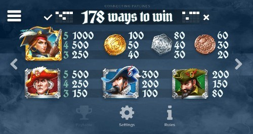 Wild Seas UK slot game