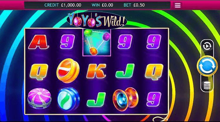 YoYo's Wild UK slot game