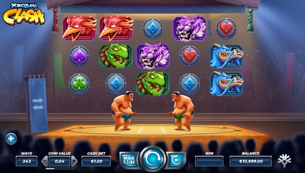 Yokozuna Clash UK slot game
