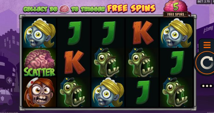 Zombie Hoard UK slot game