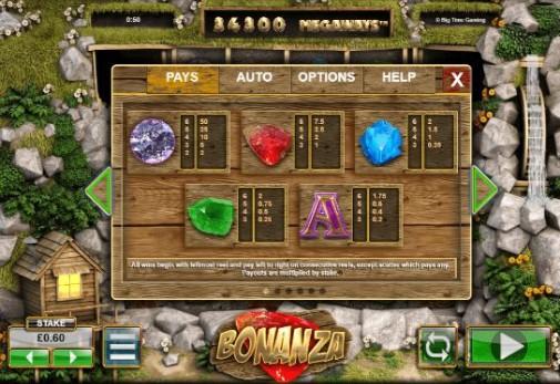 Bonanza UK Slots