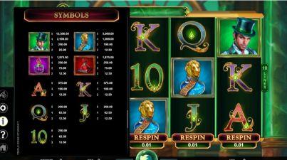 Book of Oz UK slot game