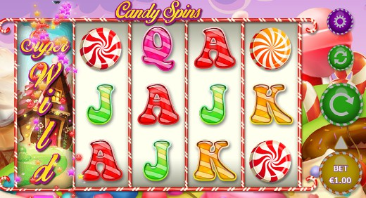 Candy Spins UK slot game