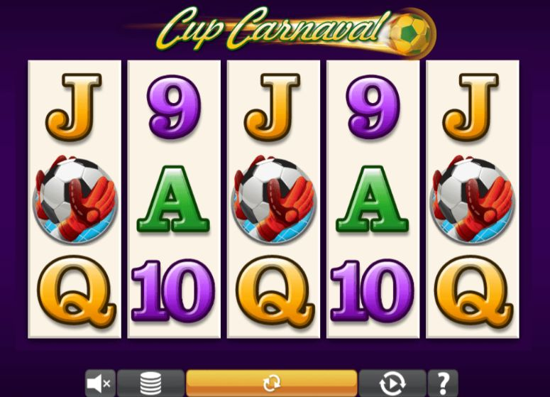 Cup Carnaval UK slot game